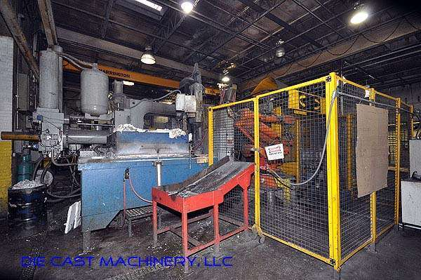 Picture of Buhler Prince Horizontal Cold Chamber Aluminum High Pressure Die Casting Machine DCMP-2142