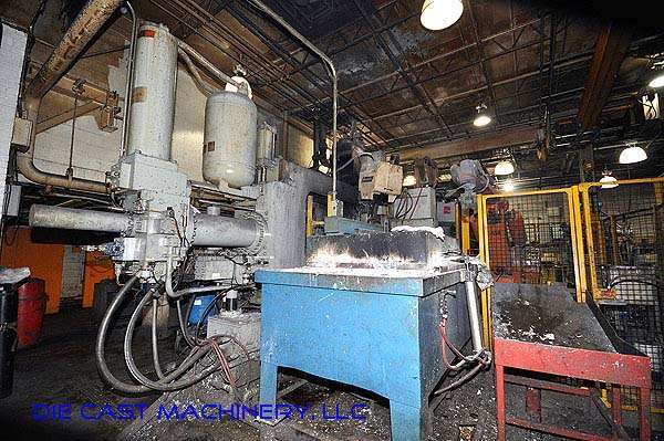 Image of Horizontal Cold Chamber Aluminum High Pressure Die Casting Machine For Sale DCM-2142