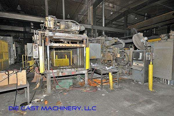 Image of Horizontal Cold Chamber Aluminum High Pressure Die Casting Machine For Sale DCM-2161