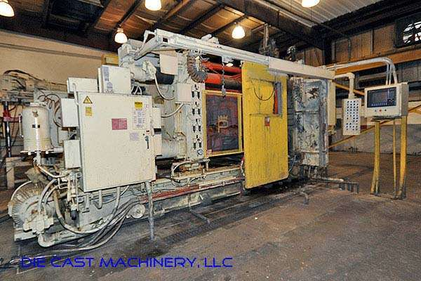 Picture of Prince 1242 CCM Horizontal Cold Chamber Aluminum/Magnesium Capable High Pressure Die Casting Machine For Sale DCMP-2165