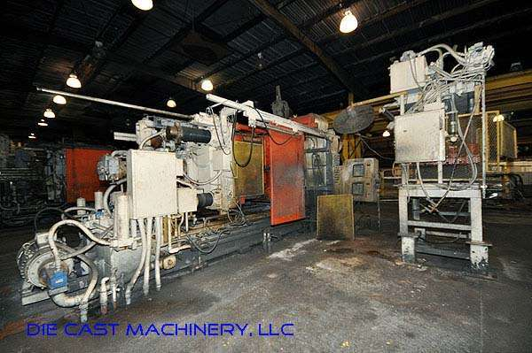 Picture of Prince 940 CCA Horizontal Cold Chamber Aluminum High Pressure Die Casting Machine For Sale DCMP-2167