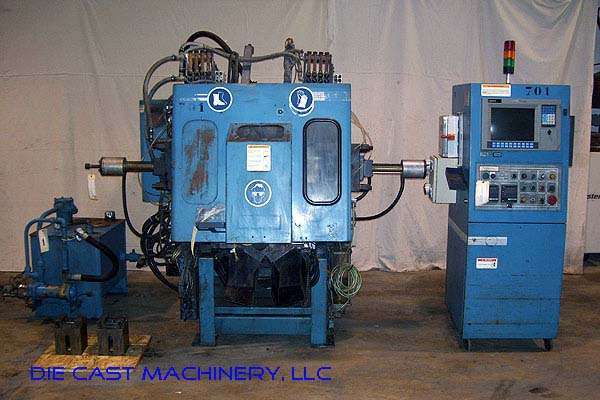 Picture of Techmire 66NT (6x6) Four Slide/Multi-slide Hot Chamber Zinc (Zamak) High Pressure Die Casting Machine For Sale DCMP-2171