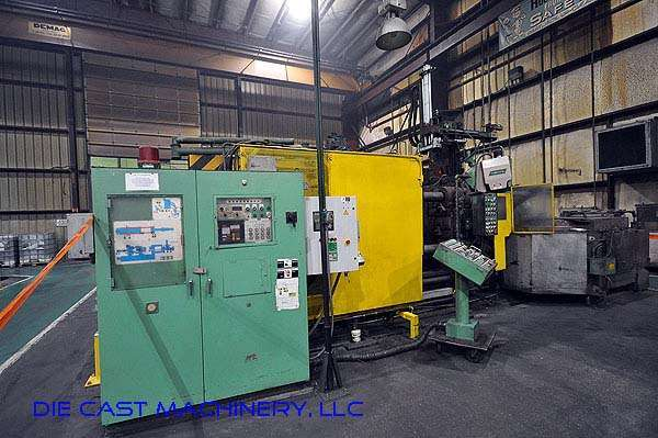 Picture of Toshiba Horizontal Cold Chamber Aluminum High Pressure Die Casting Machine DCMP-2176