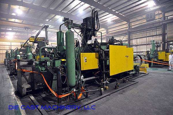 Image of Horizontal Cold Chamber Aluminum High Pressure Die Casting Machine For Sale DCM-2176