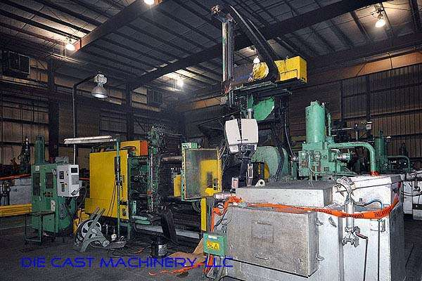 Picture of Toshiba DC-650-CL-II Horizontal Cold Chamber Aluminum High Pressure Die Casting Machine For Sale DCMP-2177