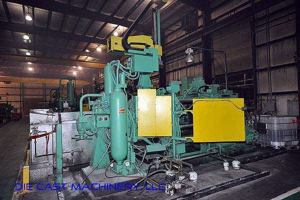 Image of Horizontal Cold Chamber Aluminum High Pressure Die Casting Machine For Sale DCM-2178
