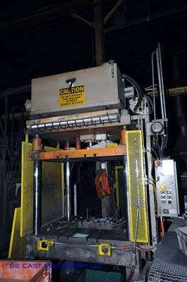 50 ton, 4-Post Hydraulic Trim Press