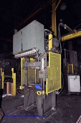 35 ton, 4-Post Hydraulic Trim Press