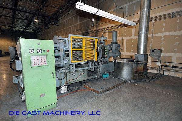 Picture of Toshiba DC250-A Horizontal Cold Chamber Aluminum High Pressure Die Casting Machine For Sale DCMP-2206