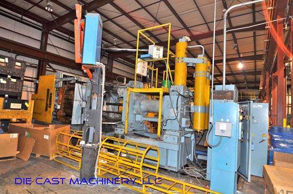 Picture of Ube UB800-GH III Horizontal Cold Chamber Aluminum High Pressure Squeeze Cast or Semi-Solid Die Casting Machine For Sale DCMP-2292