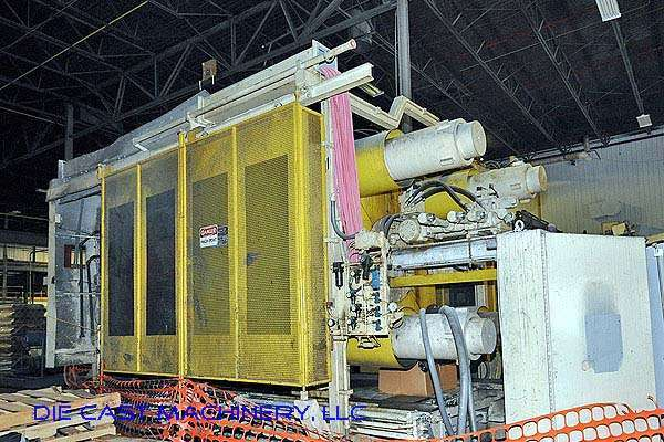 Picture of Prince 1651 CCA Horizontal Cold Chamber Aluminum High Pressure Die Casting Machine For Sale DCMP-2297