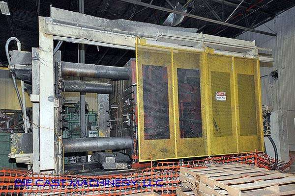 Picture of Prince Horizontal Cold Chamber Aluminum High Pressure Die Casting Machine DCMP-2297