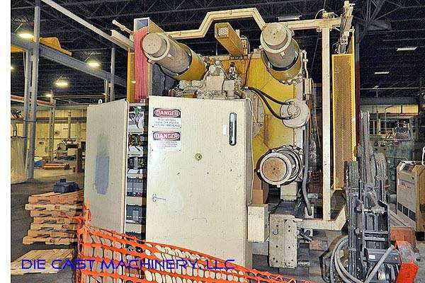 Image of Horizontal Cold Chamber Aluminum High Pressure Die Casting Machine For Sale DCM-2297