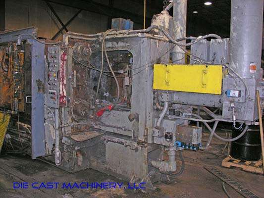 Image of Horizontal Cold Chamber Aluminum High Pressure Die Casting Machine For Sale DCM-2324