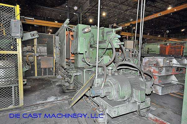 Picture of Kux-Wickes Horizontal Cold Chamber Aluminum High Pressure Die Casting Machine DCMP-2371
