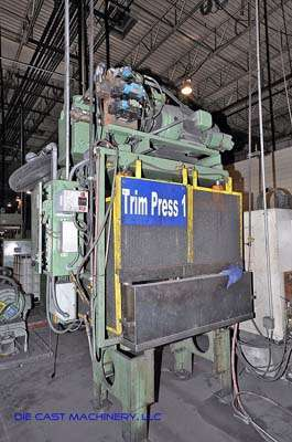 50 Ton Vertical Trim Press, Rebuilt by Metal Mechanics October 2007