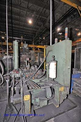 Picture of HPM II-600-A Horizontal Cold Chamber Aluminum High Pressure Die Casting Machine For Sale DCMP-2381
