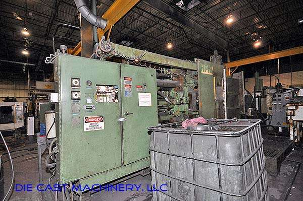 Picture of HPM II-600-A Horizontal Cold Chamber Aluminum High Pressure Die Casting Machine For Sale DCMP-2395