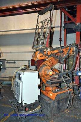 Six Axis Foundry Rated Robot with Rimrock Die Spray Package