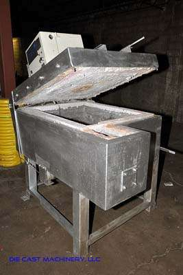 1600 Pound High Efficiency Aluminum Holding Furnace