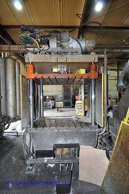 75 ton, 4-Post Hydraulic Trim Press