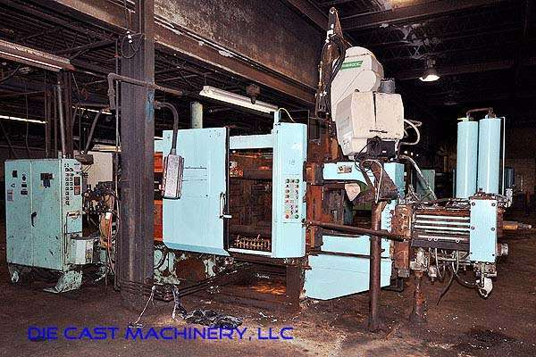 Picture of HPM II-400-A Horizontal Cold Chamber Aluminum High Pressure Die Casting Machine For Sale DCMP-2487