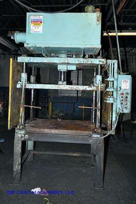 20 Ton Vertical Hydraulic Trim Press - New 1995