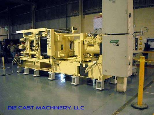 Picture of Ube UB 350 G Horizontal Cold Chamber Aluminum High Pressure Die Casting Machine For Sale DCMP-2495