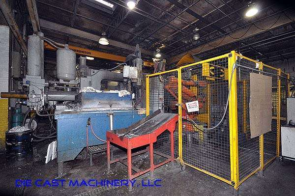 Picture of Prince Horizontal Cold Chamber Aluminum High Pressure Die Casting Machine DCMP-2531