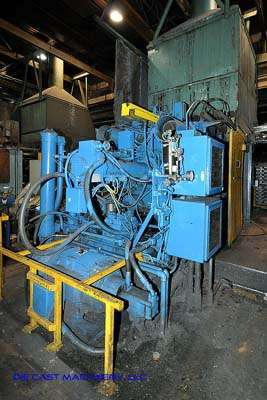 Image of Horizontal Cold Chamber Aluminum High Pressure Die Casting Machine For Sale DCM-2540