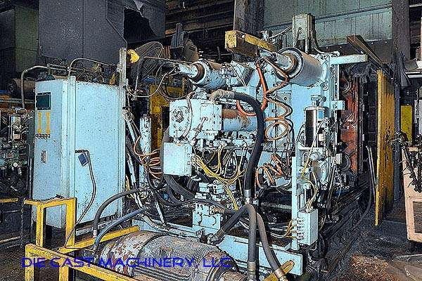 Picture of Prince 836 CCA Horizontal Cold Chamber Aluminum High Pressure Die Casting Machine For Sale DCMP-2541