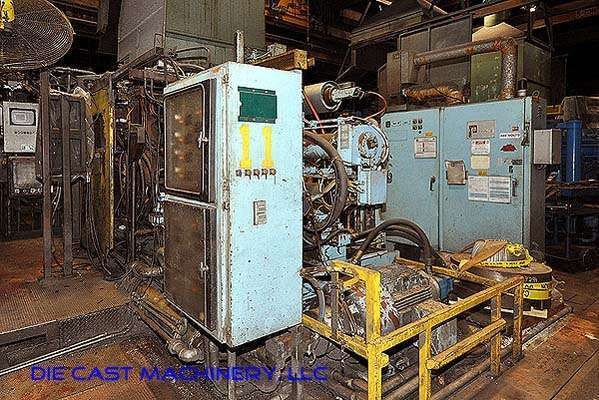 Picture of Prince Horizontal Cold Chamber Aluminum High Pressure Die Casting Machine DCMP-2541