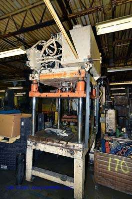 40 Ton Four Post Vertical Trim Press