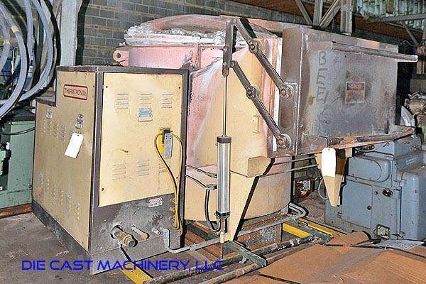 GC-2000 440 pound per hour aluminum melting and holding furnace
