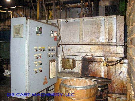 1000 lb/hr Aluminum Melting Holding Furnace