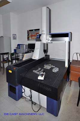 Crysta-Apex C7106 Coordinate Measuring Machine (CMM) New in 2006 with PH10MQ Probe
