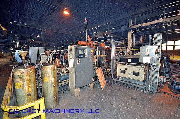 Picture of HPM D-600-Z Horizontal Hot Chamber Zinc (Zamak) High Pressure Die Casting Machine For Sale DCMP-2787