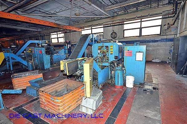 Picture of National H-55-ZX Horizontal Hot Chamber Zinc (Zamak) High Pressure Die Casting Machine For Sale DCMP-2789