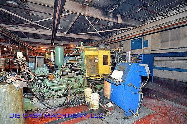 Picture of Kux-Wickes Horizontal Hot Chamber Zinc (Zamak) High Pressure Die Casting Machine DCMP-2790