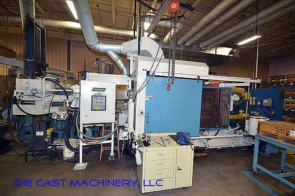Picture of Kux-Wickes HP 625 Horizontal Cold Chamber Aluminum High Pressure Die Casting Machine For Sale DCMP-2794