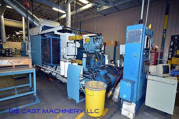 Image of Horizontal Cold Chamber Aluminum High Pressure Die Casting Machine For Sale DCM-2794