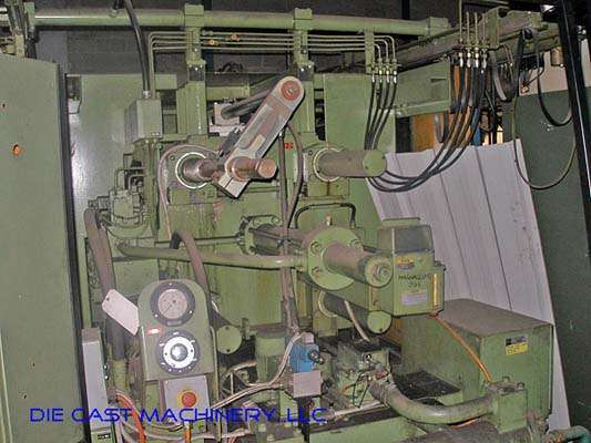 Picture of Buhler H-250-B Horizontal Cold Chamber Aluminum High Pressure Die Casting Machine For Sale DCMP-2840