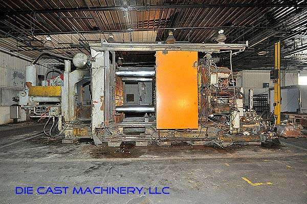 Picture of Prince Horizontal Cold Chamber Aluminum High Pressure Die Casting Machine DCMP-2842