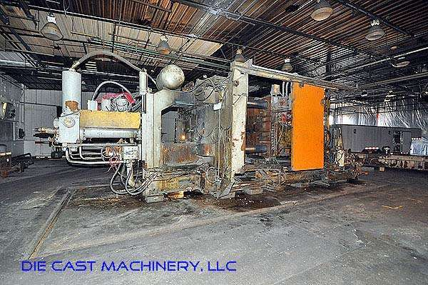 Image of Horizontal Cold Chamber Aluminum High Pressure Die Casting Machine For Sale DCM-2842