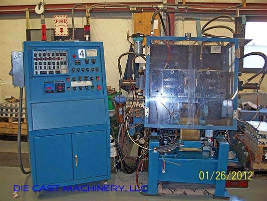 Picture of Techmire 66NT Four Slide/Multi-slide Hot Chamber Zinc (Zamak) High Pressure Die Casting Machine For Sale DCMP-2843
