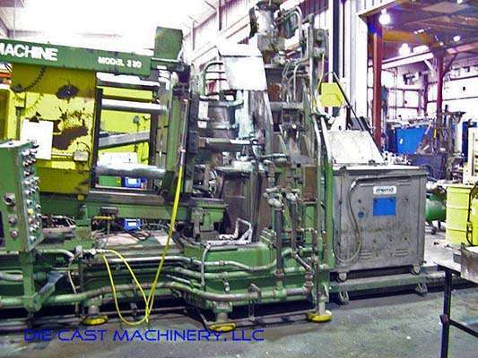 Picture of Prince  220 HCM Horizontal Hot Chamber Magnesium High Pressure Die Casting Machine For Sale DCMP-2861