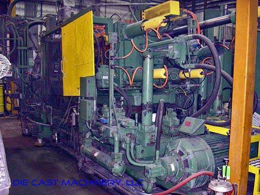 Picture of Prince  Horizontal Hot Chamber Magnesium High Pressure Die Casting Machine DCMP-2861