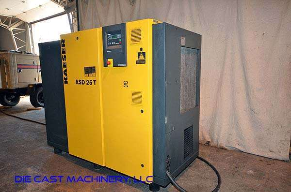used kaeser model asd 25 t sigma air compressor air dryer dcm 2862 rh diecastmachinery com kaeser as 25 manual kaeser asd 25 compressor manual