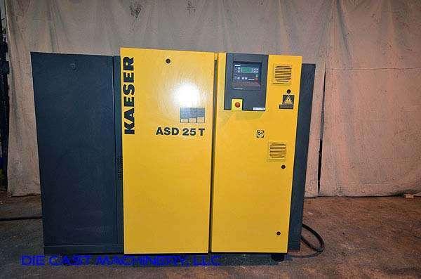 used kaeser model asd 25 t sigma air compressor air dryer dcm 2862 rh diecastmachinery com kaeser asd 25 compressor manual kaeser asd 25 compressor manual