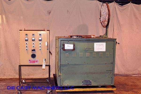 Model SF-1200 Crucible Type Aluminum Electric Melting Furnace DCM 2882